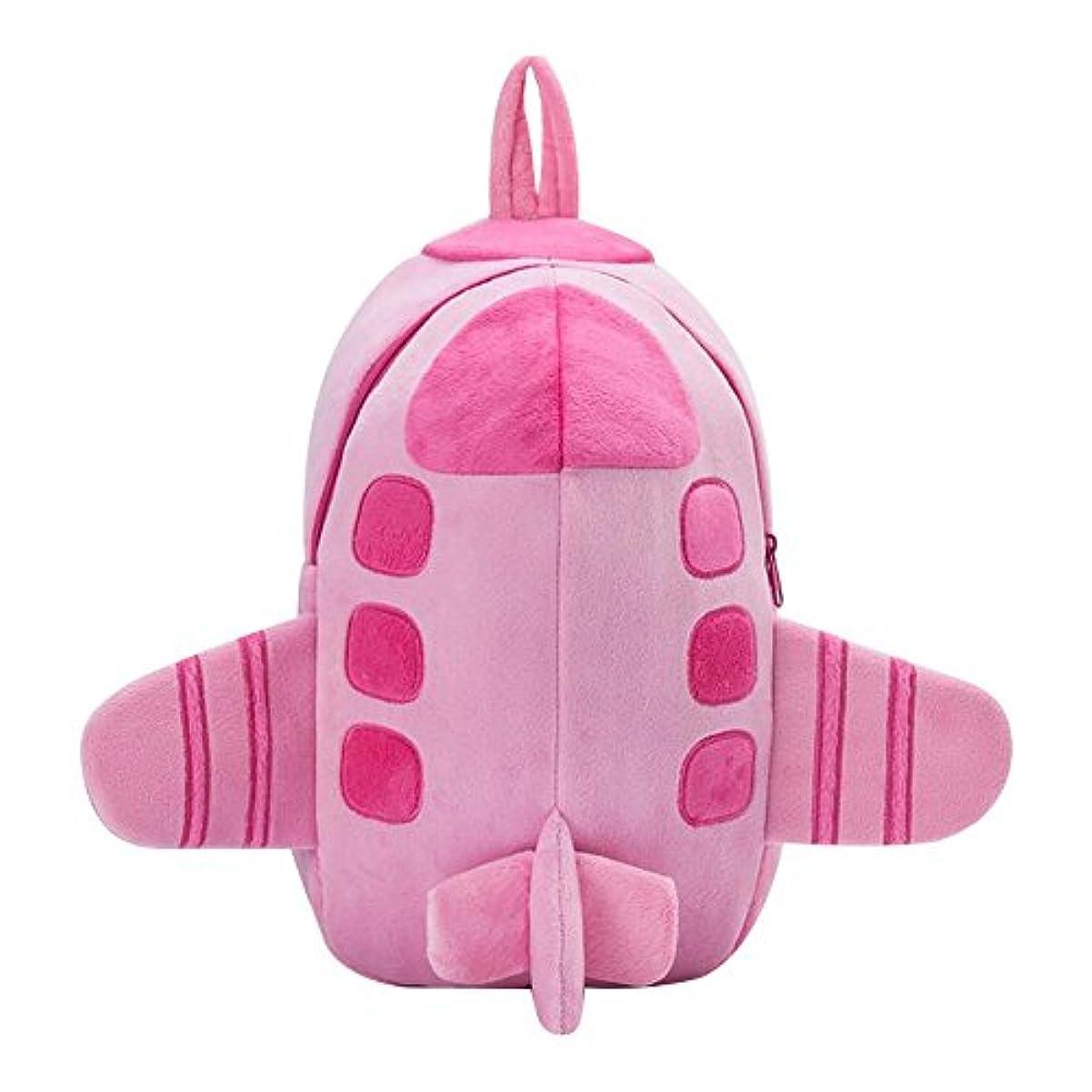 遺伝子友情推測するPadgene 飛行機型 キッズ カバン バック バックパック リュックサック 軽量 通学 遠足 旅行 誕生日 お祝い プレゼント