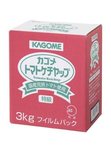 カゴメ 国産トマト100%使用トマトケチャップ 3kg