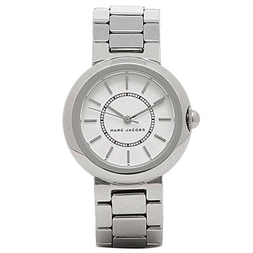 (マークジェイコブス) MARC JACOBS マークジェイコブス 時計 MARC JACOBS MJ3464 コートニー COURTNEY レディース腕時計ウォッチ シルバー/ホワイト [並行輸入品]