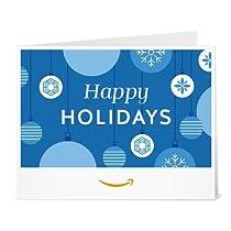 Amazonギフト券- 印刷タイプ(PDF) - クリスマス(ハッピーホリデー)