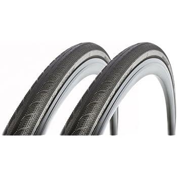 2本セット Vittoria(ヴィットリア) Rubino(ルビノ) Pro 3 Folding Clincher Tyre ブラック 700c