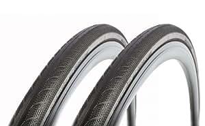 Vittoria(ヴィットリア) Rubino(ルビノ) Pro 3 Folding Clincher Tyre ブラック 700×23C 2本セット