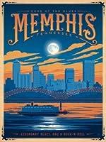 "True South "" Memphis TN ""都市景観シリーズジグソーパズル500ピース18x 24"