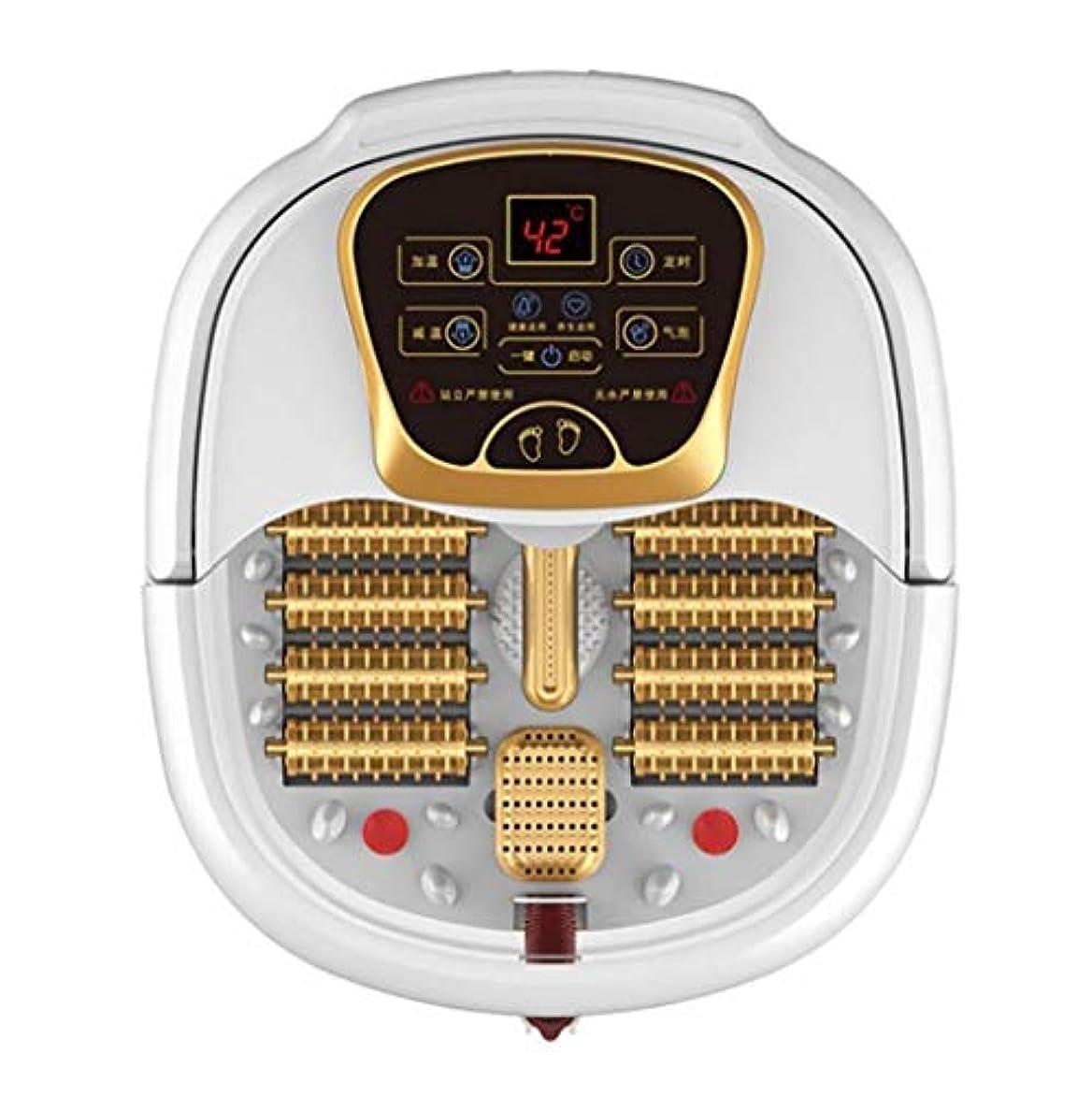 優しさ必要条件見つける電動フットマッサージ、フットバスバレル、ローラーペディキュアマッサージ、暖房/水泡フットマッサージ、温度制御、ストレス/痛みの緩和、血液循環/睡眠の促進、ホームオフィスでの使用 (Color : B, Size : Manual)