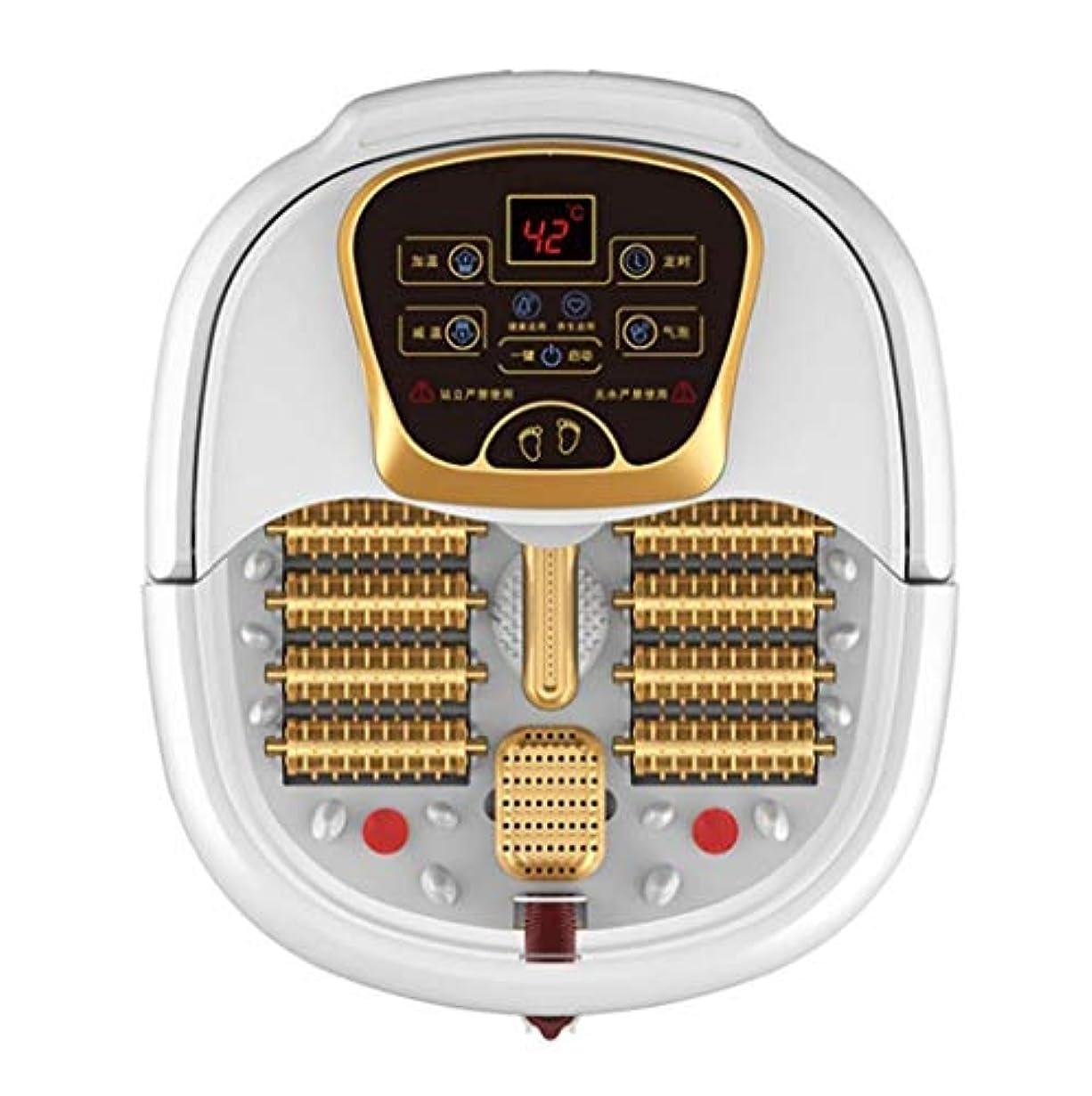 衝動知覚できる約電動フットマッサージ、フットバスバレル、ローラーペディキュアマッサージ、暖房/水泡フットマッサージ、温度制御、ストレス/痛みの緩和、血液循環/睡眠の促進、ホームオフィスでの使用 (Color : B, Size : Manual)