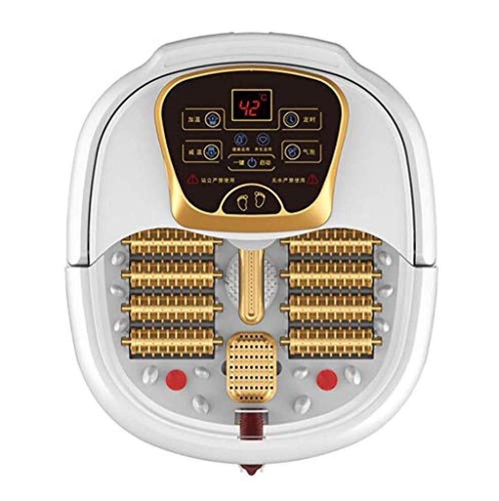 固有の思慮深い二度電動フットマッサージ、フットバスバレル、ローラーペディキュアマッサージ、暖房/水泡フットマッサージ、温度制御、ストレス/痛みの緩和、血液循環/睡眠の促進、ホームオフィスでの使用 (Color : B, Size : Manual)
