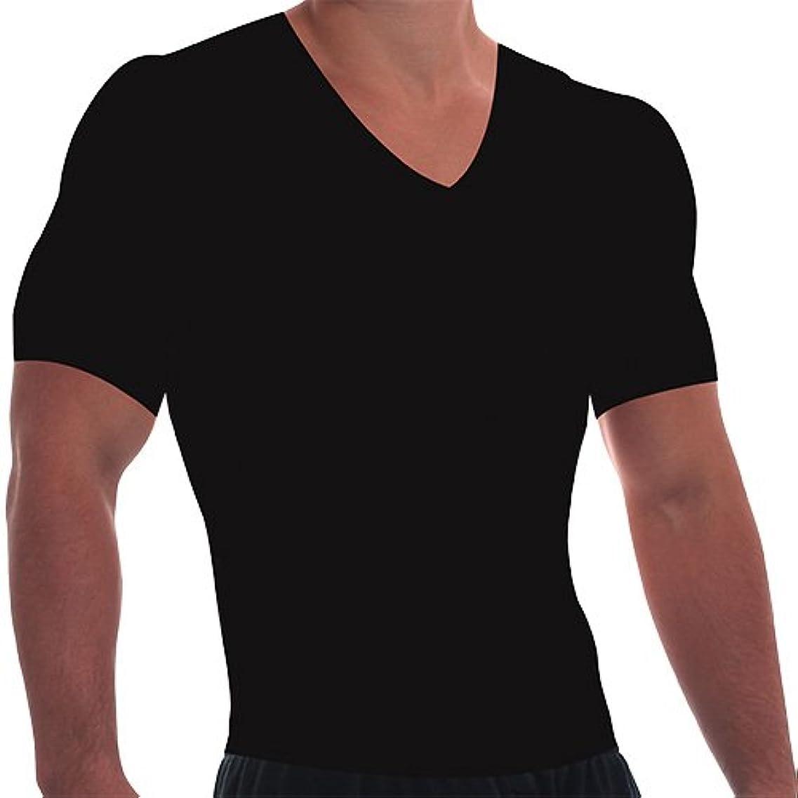 施し雪だるま励起[トーンティー] 加圧インナーシャツ ブラック Mサイズ 4225283