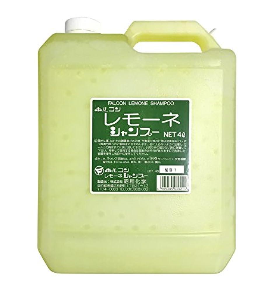 繕う求人誤って昭和化学 ホルコン レモーネシャンプー 4000ml