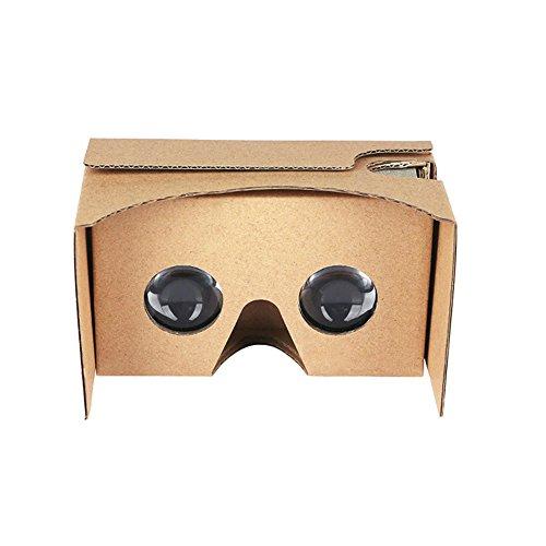 Smilemall VRカードボード スマホゴーグル 3Dメガ...