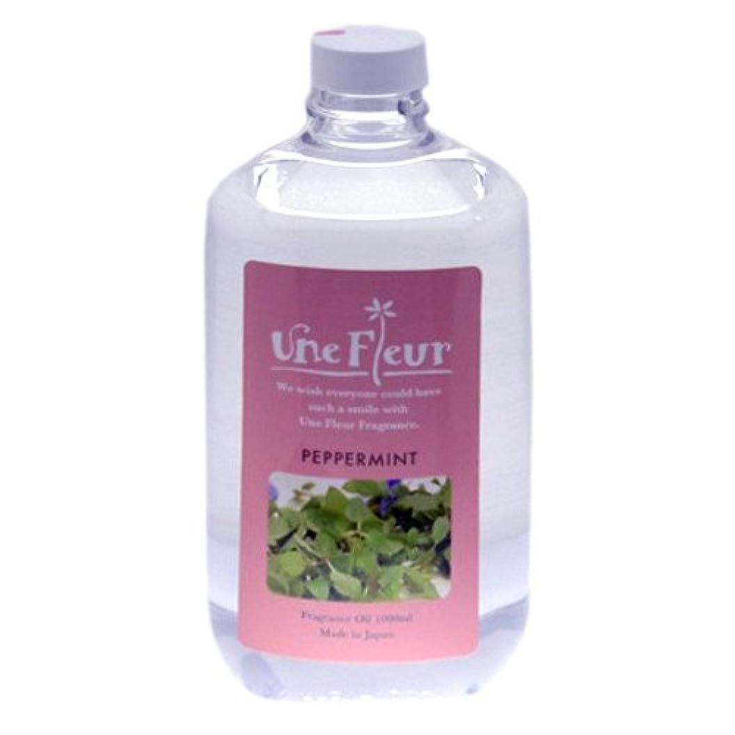 気体の薬剤師証明するユヌフルール フレグランスオイル ミント 1L