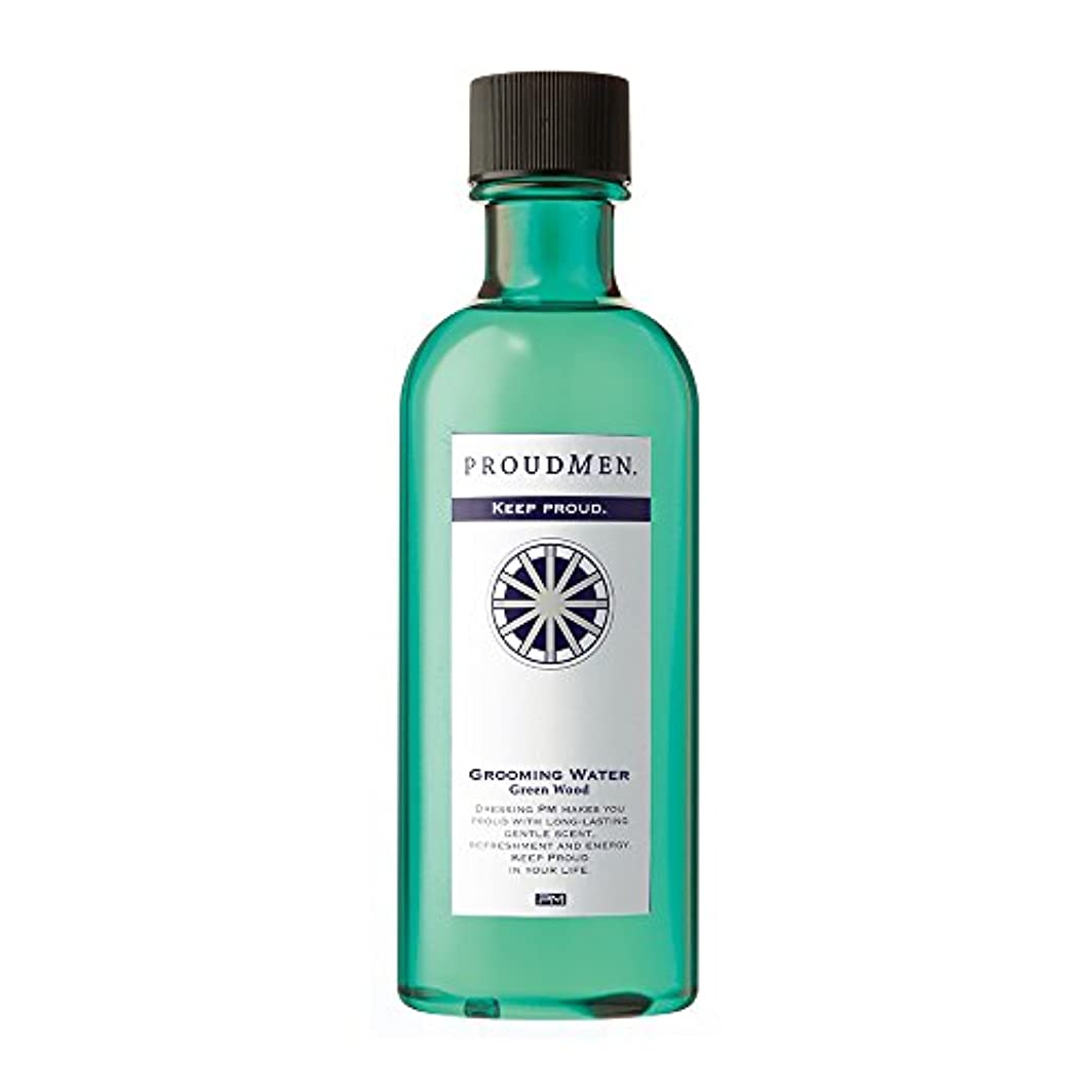 偽装する取り替える外出プラウドメン グルーミングウォーターGW 200ml (グリーンウッドの香り) 全身 ボディローション