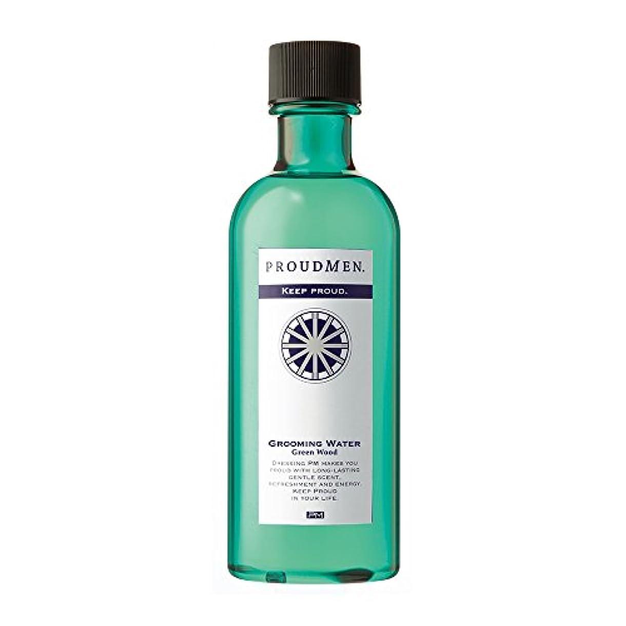 コショウ逆に延期するプラウドメン グルーミングウォーターGW 200ml (グリーンウッドの香り) 全身 ボディローション