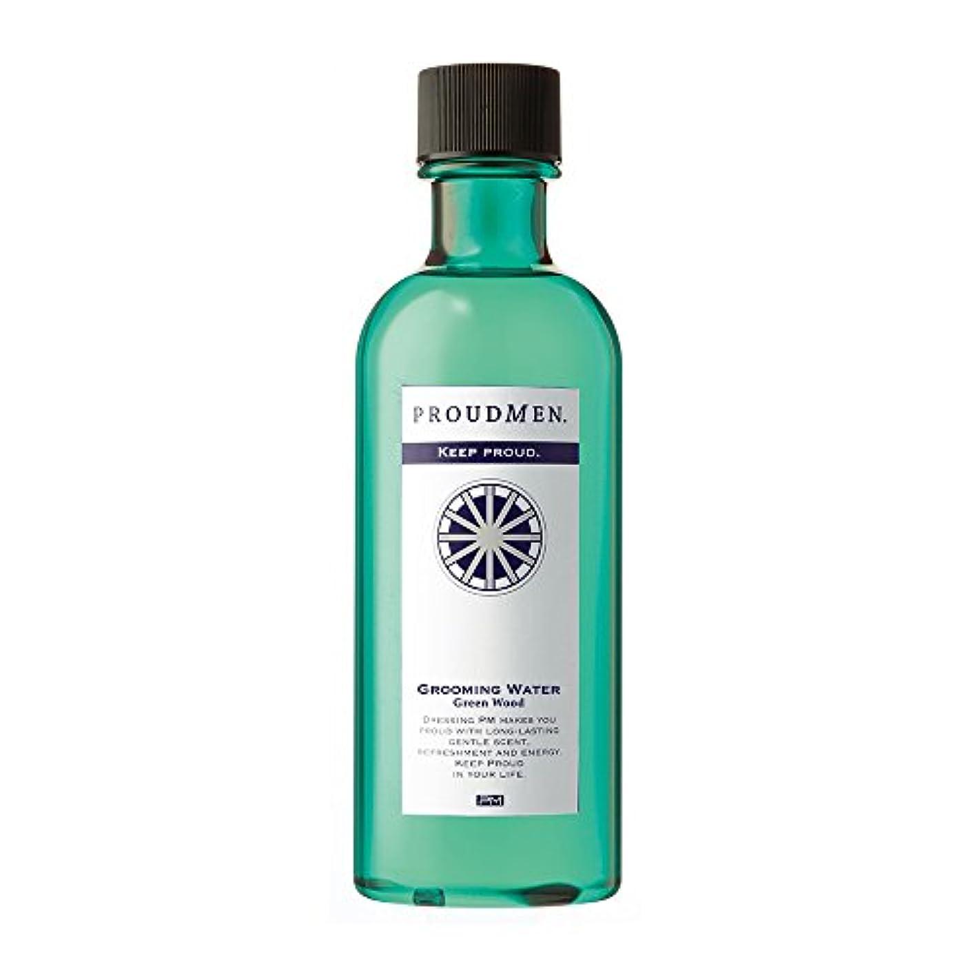 恥ずかしさ難しい章プラウドメン グルーミングウォーターGW 200ml (グリーンウッドの香り) 全身 ボディローション