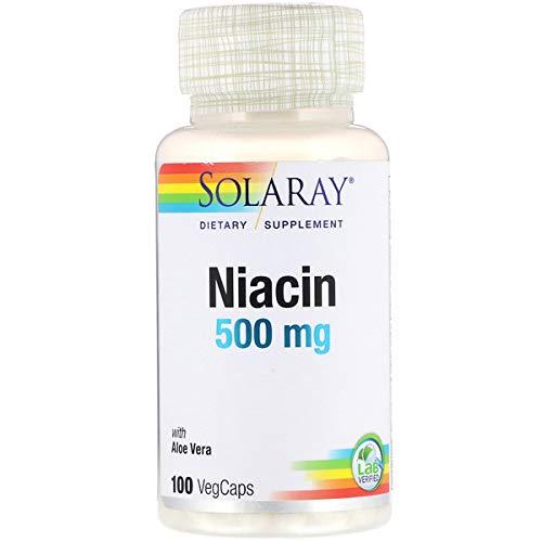 Solaray ナイアシン(ビタミンB3)100粒