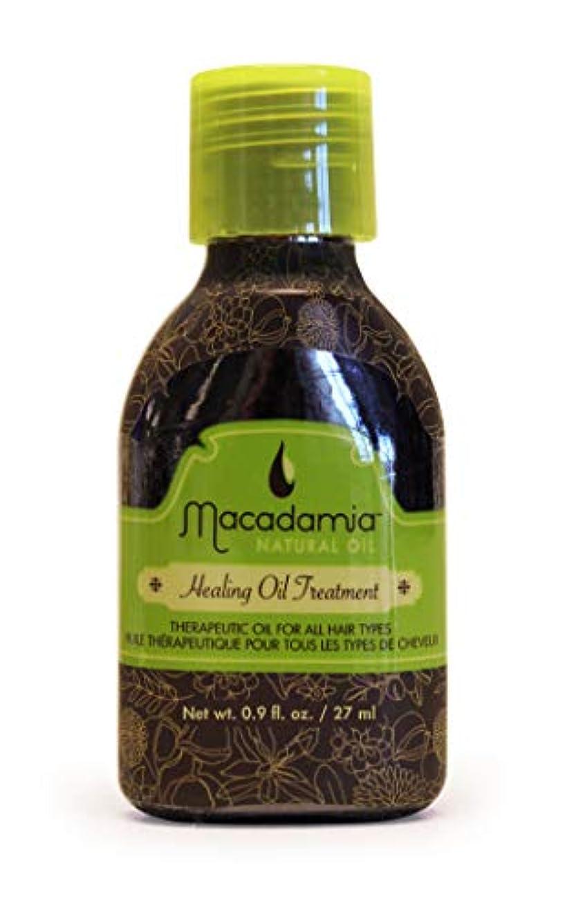 スキャンダル篭また明日ねマカダミアナチュラルオイル Healing Oil Treatment (For All Hair Types) 27ml/0.9oz並行輸入品