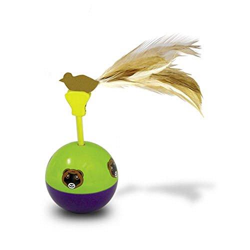 (スーパーペット) Superpet 小動物用 チップNトップル フェレットトイ フェレット用おもちゃ ペット用玩具 (ワンサイズ) (マルチカラー)