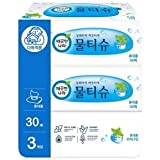 Kleannara Peppermint Wet Tissue, 30 Count (Pack of 3)