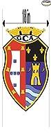 Ginasio Clube AlcobacaポルトガルサッカーフットボールクラブFC 2ステッカー車バンパーウィンドウステッカーデカール大18インチ