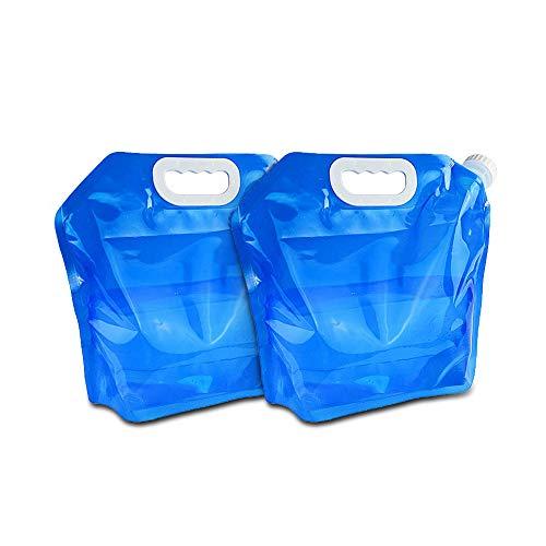 ウォーターバッグ 給水袋 アウトドアアクセサリー 非常用 貯水 ハイドレーションバッグ折りたたみ式 携帯便...