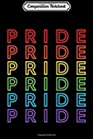 Composition Notebook: Pride - Gay Pride Rainbow  Journal/Notebook Blank Lined Ruled 6x9 100 Pages