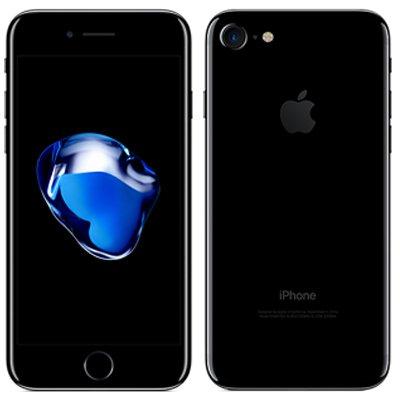 Apple 【SIMロック解除済】au iPhone7 256GB A1779 (MNCV2J/A) ジェットブラック