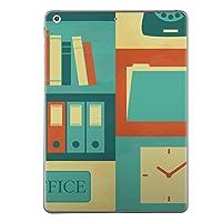iPad Air2 スキンシール apple アップル アイパッド A1566 A1567 タブレット tablet シール ステッカー ケース 保護シール 背面 人気 単品 おしゃれ ユニーク オフィス イラスト 002398