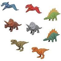 イワコーおもしろ消しゴム恐竜消しゴム(8種)