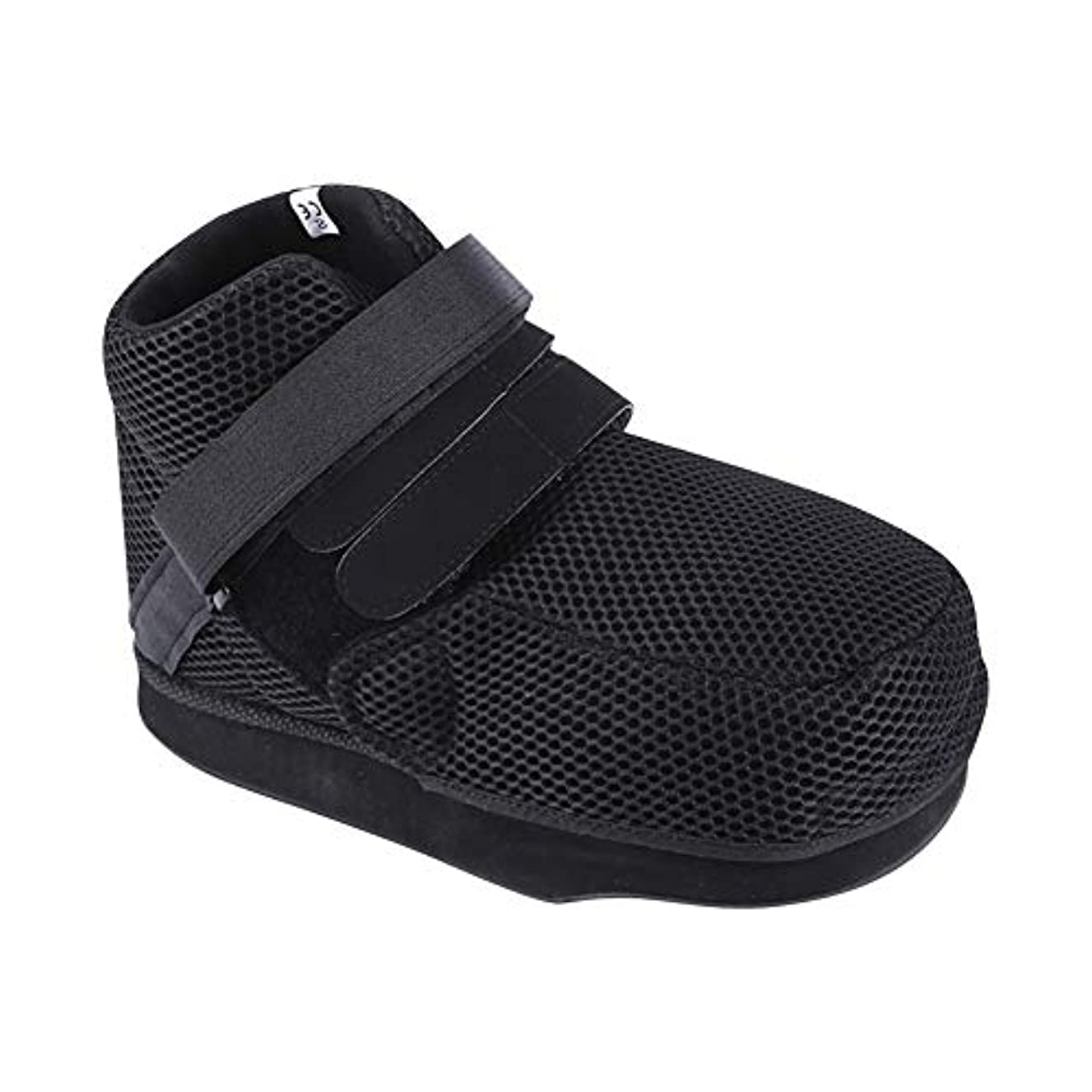 スリップ同意する容疑者uirendjsf 前足減圧靴 - ポストプラスター靴 調節可能なストラップ 足の骨折足骨折患者用
