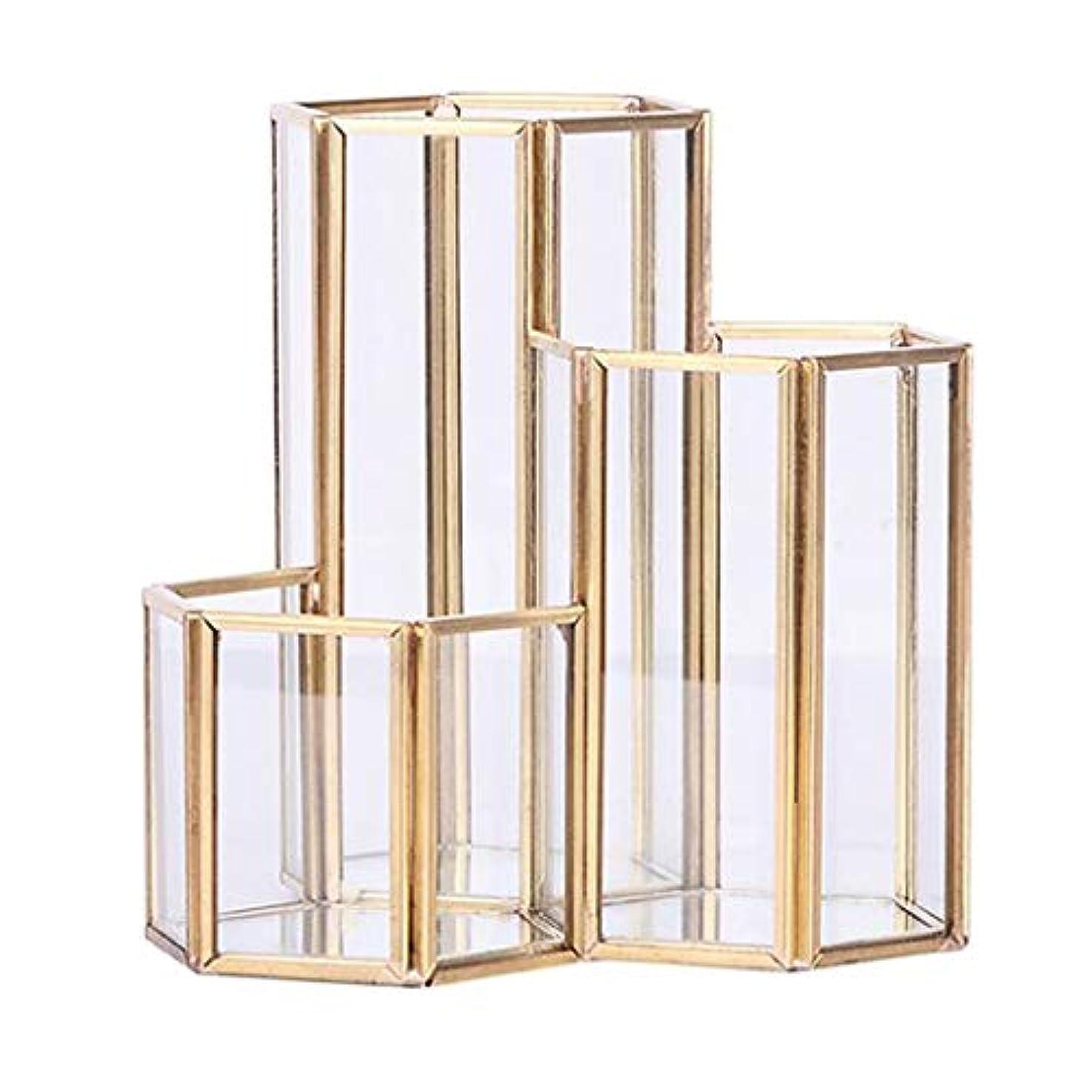 例示する拡散する直面する六角 収納オーガナイザー 化粧品オーガナイザー 収納用品 多機能