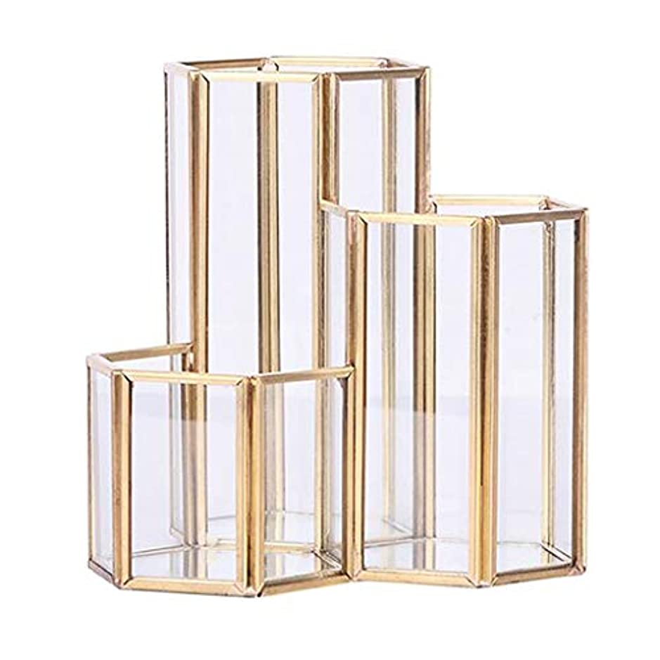 トラフィックローマ人かんがい六角 収納オーガナイザー 化粧品オーガナイザー 収納用品 多機能