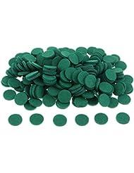 gazechimp 約200個入り 詰め替えパッド アロマオイルパッド パッド 詰め替え エッセンシャルオイル 部屋 全11色 - 緑