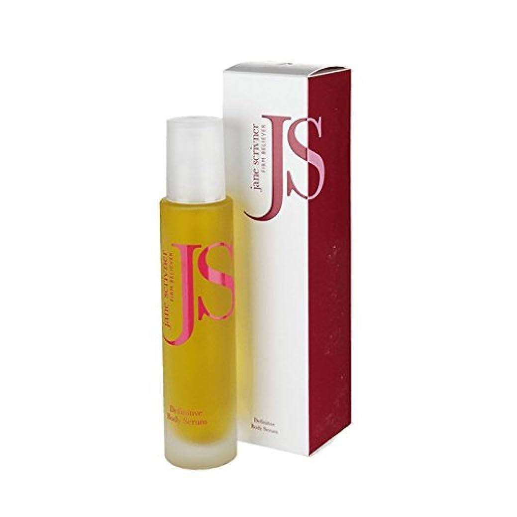 意見徒歩で測定可能Jane Scrivner Body Bath Oil Firm Believer 100ml (Pack of 6) - ジェーンScrivnerボディバスオイル会社の信者の100ミリリットル (x6) [並行輸入品]