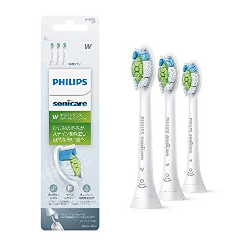 フィリップス PHILIPS ソニッケアー替えブラシ ホワイトプラス レギュラー ホワイト 3本組 HX6063/67 1個