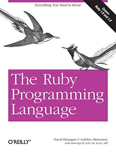 Download The Ruby Programming Language: Everything You Need to Know 0596516177