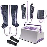 空気圧縮マッサージ全身ポータブル腕ふくらはぎ足足と腰、疲労を和らげる、血流循環を改善します。