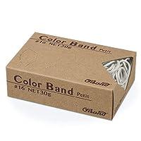 【ケース販売】 カラーバンド プチ #16 30g×100箱 ホワイト