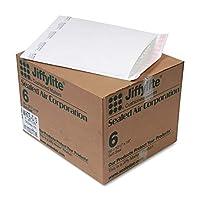 Sealed Air Jiffylite セルフシール封筒 #6 12 1/2 x 19 ホワイト 50枚/カートン 39262