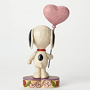 Enesco(エネスコ) Peanuts by Jim Shore Snoopy with Heart Balloon 4042378 [並行輸入品]