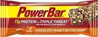 パワーバー, トリプルスレット, エネルギーバー, チョコレートピーナッツバタークリスプ, 55gの
