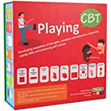Playing CBT - therapy game to develop awareness of thoughts emotions and behaviors for improving social skills coping skills and enhancing self control.