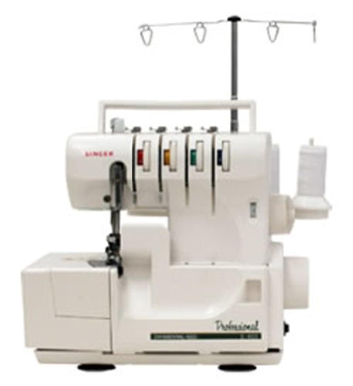 シンガー(SINGER) ロックミシン 2本針4本糸かがりミシン (差動送り付) S-400
