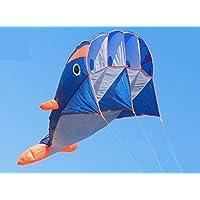 立体イルカ凧 カイト フライング効果が非常に素晴らしいです 飛び、持ち運びやすいです