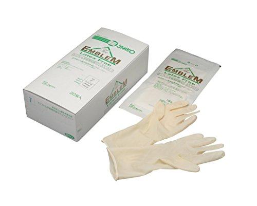 三興化学工業 エンブレム手術用手袋 ラテックスフリー...