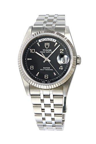 [チュードル]Tudor 腕時計 プリンス デイトデイ ブラックダイヤル 自動巻き 76214BK5AR メンズ 【並行輸入品】