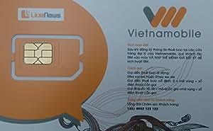 [Vietnamobile] ベトナム 3G 30日間 データ通信SIMカード 15GB  [並行輸入品]
