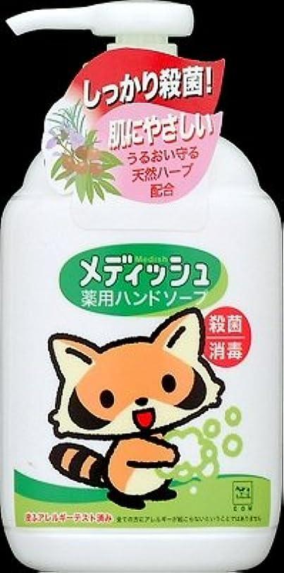 褐色咲くさわやか牛乳石鹸共進社 メディッシュ薬用ハンドソープ ポンプ250ml×24点セット (4901525955706)