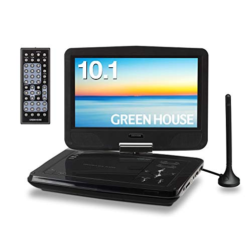 GREENHOUSE(グリーンハウス)『10型ワイドポータブルDVDプレーヤーTVチューナー』