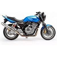 【WR'S ダブルアールズ】カーボンサイレンサースリップオンタイプ「HONDA CB400SF H-V REVO/SB/ABS 2008~2009」