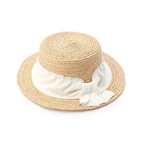(ハッシュアッシュ) HusHusH 腰布デザインカンカン帽 51342023 00 ホワイト(001)