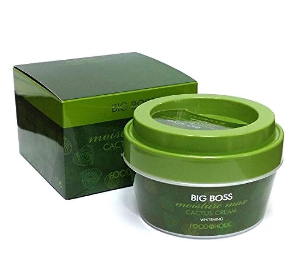 肺安定課す[FoodaHolic] ビッグボスモイスチャーマックスサボテンクリーム300g / Big Boss Moisture Max Cactus Cream 300g / ホワイトニング / Whitening / 韓国化粧品...